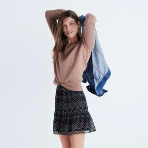[Madewell] Caravan Print Mini Skirt